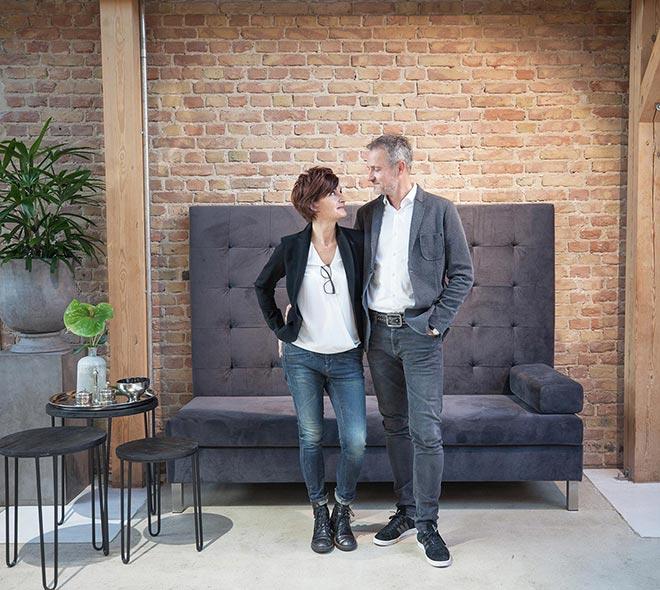 Daberkow Modeagentur gemeinsames Porträt Brita und Maik Daberkow